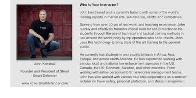 Street Smart Defender Self Defense-Oshkosh