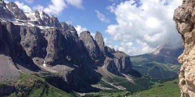 Walking the Wild:  A Via Ferrata Adventure on Alta Via Due (II) in the Italian Dolomites, With Peter Hendrickson