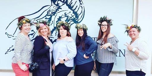 Unser Junggesellinnenabschied-Special für Euch: FLOWER CROWN & SHOOTING !