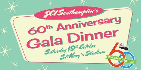JCI Southampton 60th Anniversary Gala Dinner tickets