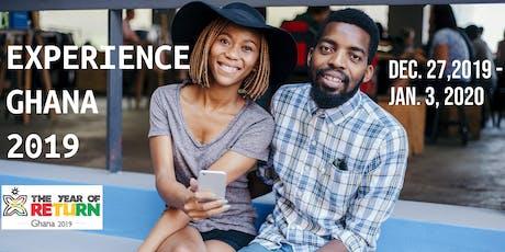 Experience Ghana 2019   tickets