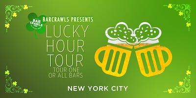 BarCrawls.com Presents New York St. Patrick's Eve Lucky Hour Tour