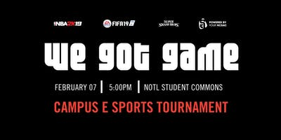 Niagara College - We Got Game! Esports Tournament