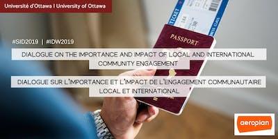 Dialogue sur l'importance et l'impact de l'engagement communautaire local et international | Dialogue on the Importance and Impact of Local and International Community Engagement