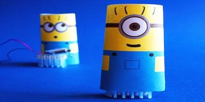 BIT Club Program: Minion Brush Bots