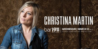 Christina Martin - Live at Bar1911
