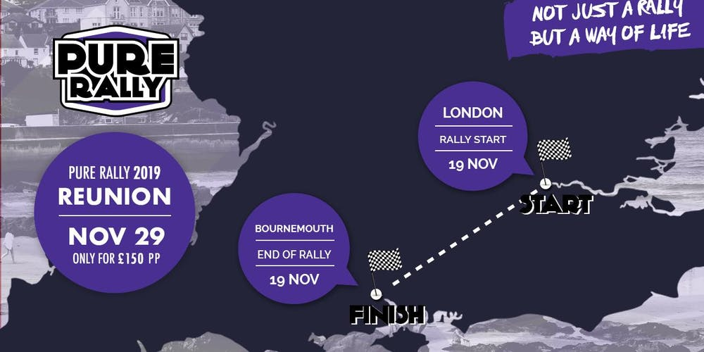 Pure Rally end of year run Tickets, Fri 29 Nov 2019 at 10:00