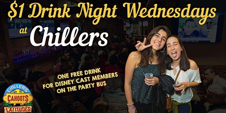 Wednesdays at Chillers, I Bar, Tier, & more tickets