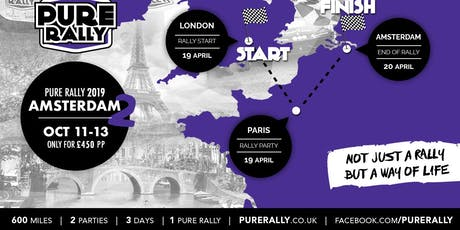 Pure Rally Amsterdam the return  2019  tickets