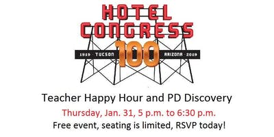 Teacher Happy Hour and PD Discovery