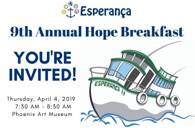 9th Annual Esperança Hope Breakfast