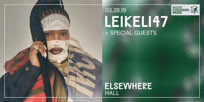 Leikeli47 @ Elsewhere (Hall)