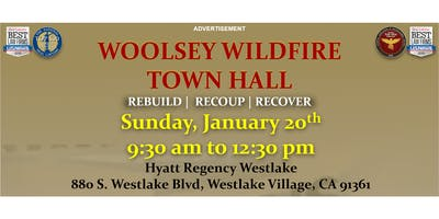 January 20th--Westlake--Woolsey Wildfire Town Hall