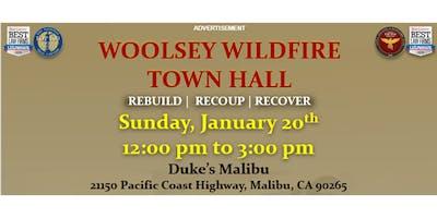 January 20th--Malibu--Woolsey Wildfire Town Hall