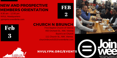 New and Prospective Member Orientation February 2019