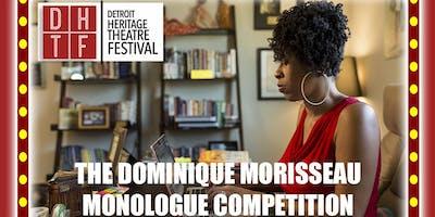 DHTF 2019: DOMINIQUE MORISSEAU MONOLOGUE COMPETITION LIVE