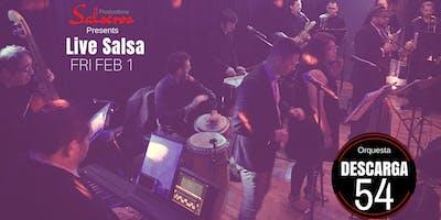 Live Salsa special Event with Orq Descarga 54