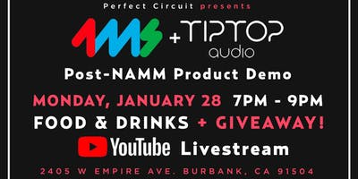4MS + Tiptop Audio Post-NAMM In Store Event + Giveaway