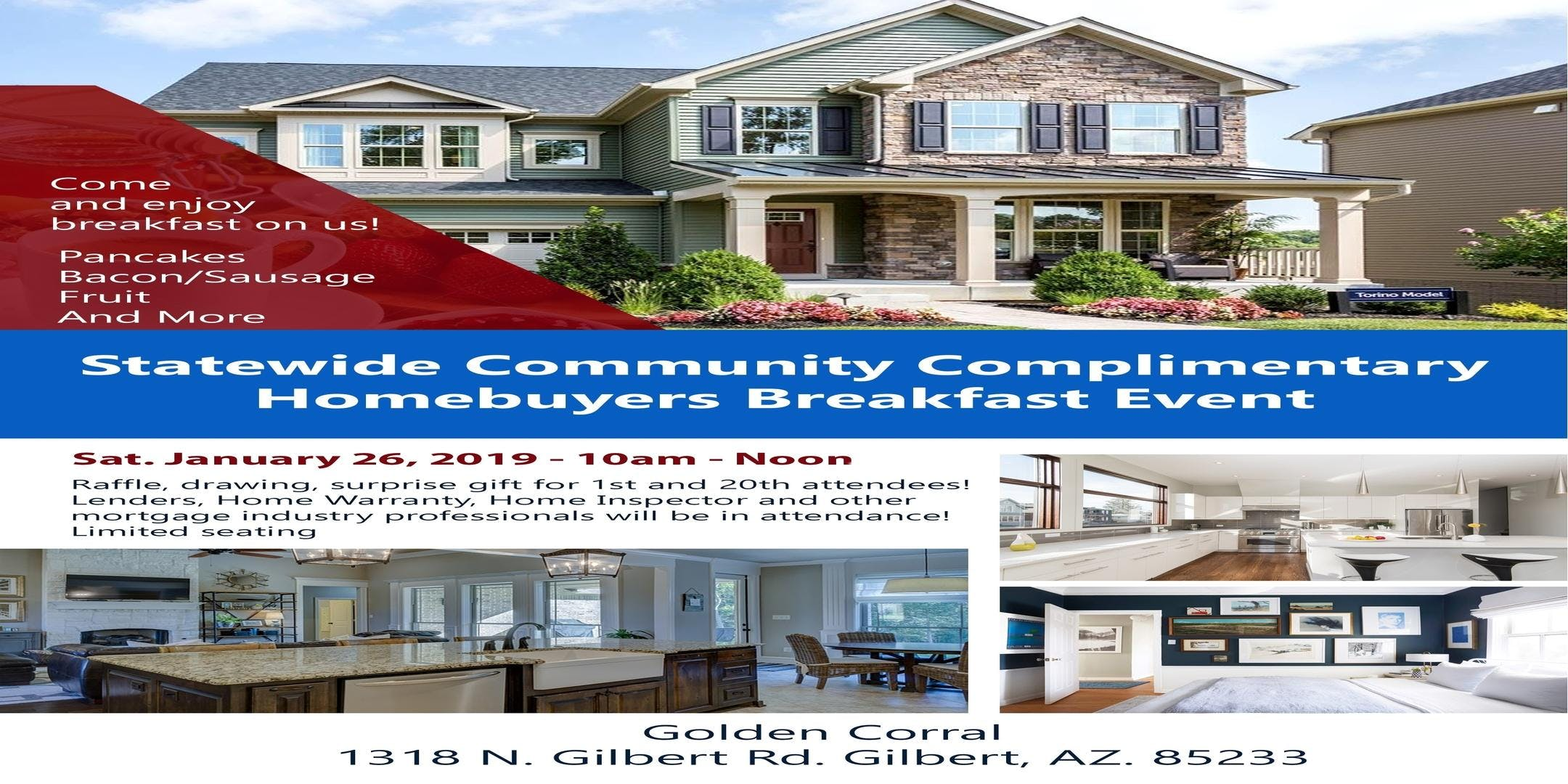 Home Buyer Complimentary Breakfast Event