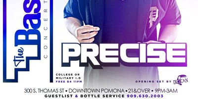 #BASEMENTSaturdays w/ DJ PRECISE (Power106FM)