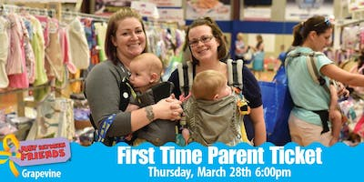 JBF First Time Parent Presale Ticket| Grapevine