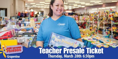 JBF Teacher Presale Ticket | Grapevine