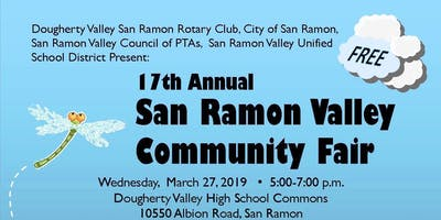 Vendor Registration for the San Ramon Valley Community Fair 2019