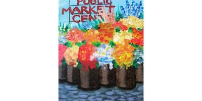3/18 - Market Flower Stall @ Ballard Pizza Co, Seattle