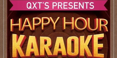 Happy Hour Karaoke, SO80's // SO90's, Cruxshadows raffle = Ouch!