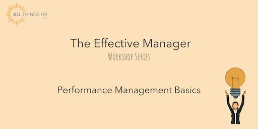 Performance Management Basics