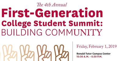 4th Annual First-Generation College Student Summit