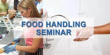 Food Handling Classroom Learning tickets