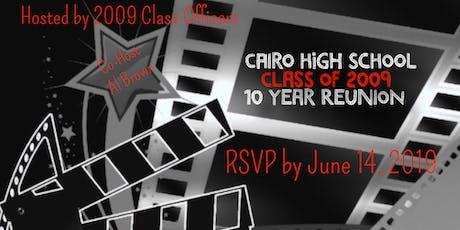 Cairo High School 10 Year Class Reunion tickets