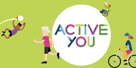 Active You - Healthy Living Seminar tickets