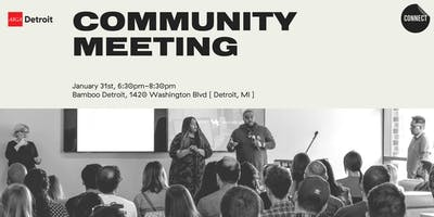 AIGA Detroit Community Meeting