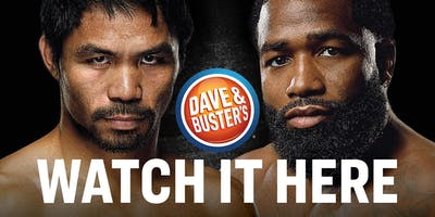 Dave & Buster's Honolulu Fight Night - Pacquiao vs. Broner
