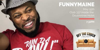 """Jermaine """"FunnyMaine"""" Johnson Off the Couch Spring Tour"""