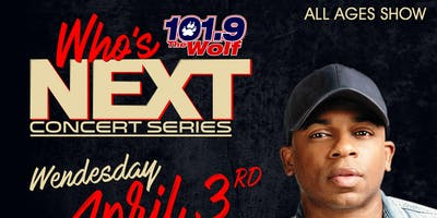 WHO'S NEXT MUSIC SERIES Featuring Jimmie Allen with special guests Mondo and Amador Sons