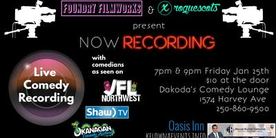 Now Recording: a live comedy recording