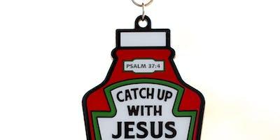 2019 Catch Up With Jesus 1 Mile, 5K, 10K, 13.1, 26.2 - Evansville