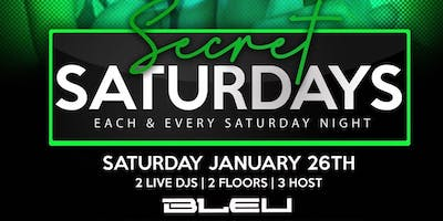 Secret Saturdays at Bleu Detroit
