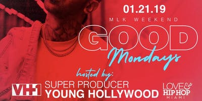 MLK Weekend Good Mondays @ The Dirty Rabbit in Wynwood Hosted By Vh1