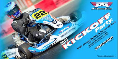 DRIVING AT PGR KICKOFF RICCIARDO KART - EXCLUSIVE TRACKDAY W/ JENSON BUTTON