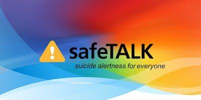 safeTALK suicide awareness workshop