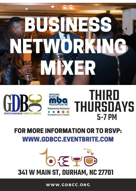 Business Networking Mixer {3rd Thursdays}