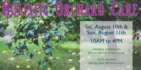 Holistic Orchard Care Course tickets