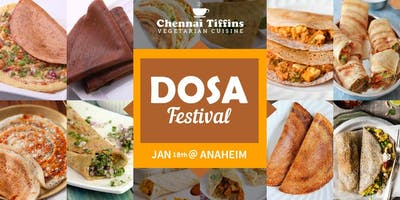 Dosa Festival - Unlimited 10 varieties of South Indian Dosas