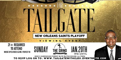 Tailgate with Cleo Fields (Playoff Watch Party)