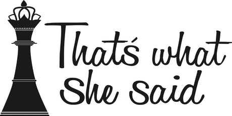 That's What She Said SF™: Moon Cycle Nutrition Wellness Workshop tickets