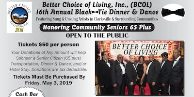 BCOL 16th Annual Black Tie Dinner & Dance - Friday